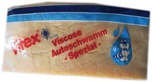 Viskose- Autoschwamm halbrund 195x80x55mm 10 St.