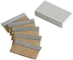 Ersatzklingen für 4cm Sicherheitsschaber je VE mit 5 St.