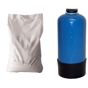 Mischbettharz (Granulat) 12,5L für Purastart Mini im Austausch