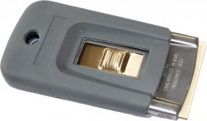 Sicherheitsschaber 4 cm gummiert incl. Klinge